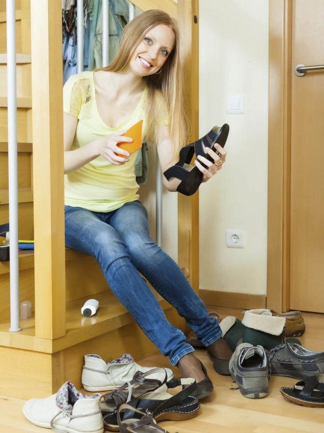 Los Para Remedios Caseros Zapatos Limpiar WYHE9D2I