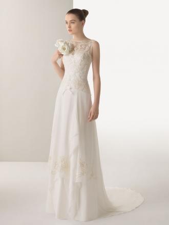 0c08ab72b6 Tres colecciones diferentes de Rosa Clará para elegir tu vestido de novia