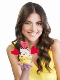 Tartas, postres y cupcakes para celebrar San Valentín