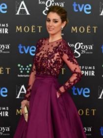 Clara Lago, Blanca Suárez... las famosas escogen el marsala en los Goya 2015