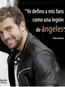 Los ángeles de Pablo Alborán, sus fans