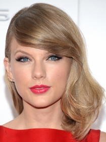 Peinados de estrella: El flequillo de Taylor Swift