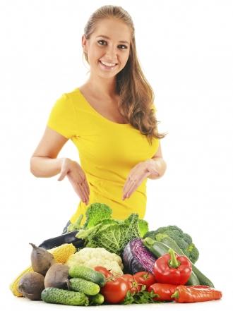 El adelgazamiento sobre hortalizas las revocaciones del menú