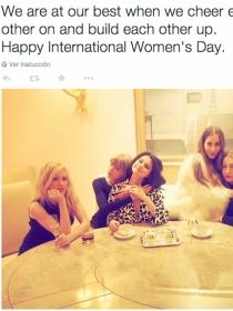 Día de la mujer: Taylor Swift, Clara Lago y María Valverde, ¡arriba las féminas!