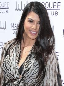 Kourtney Kardashian arrasa en Las Vegas