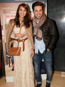 Paula Echevarría y David Bustamante, una velada perfecta en el teatro