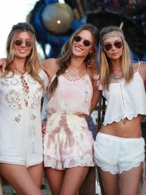 Alessandra Ambrosio: la reina 'boho' de Coachella