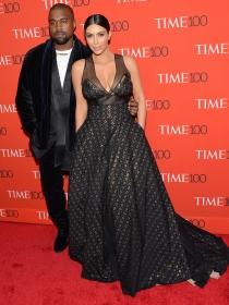 Time 100: Kim Kardashian y Kanye West, protagonistas indiscutibles