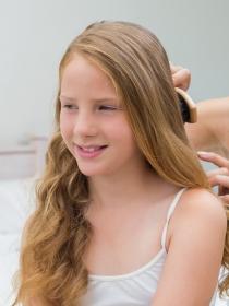 Peinados fáciles de comunión para niñas