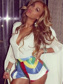 La sexy Beyoncé, amante del diseño español
