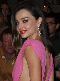 Miranda Kerr, princesa en rosa en Cannes 2015