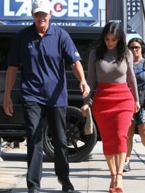 Kim Kardashian, el gran apoyo de Bruce Jenner