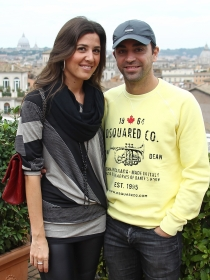 WAGS: Nuria Cunillera, el gran apoyo de Xavi Hernández