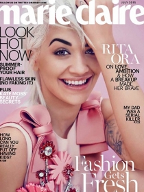 Rita Ora se confiesa sobre Calvin Harris en Marie Claire