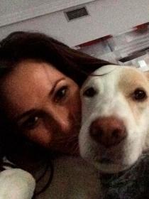 Perros de famosos: Danka, la perrita mestiza de Malú