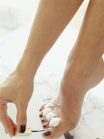 Trucos para pintar las uñas de los pies