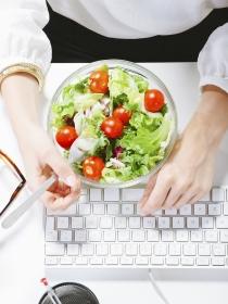 5 menús para adelgazar en la oficina