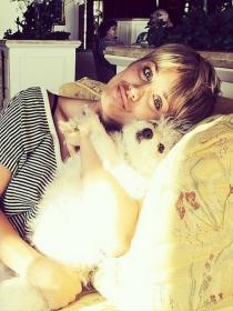 Perros de famosos: Ruby y los Pitbull de Kaley Cuoco