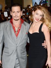 Perros de famosos: los Yorkshire de Johnny Depp y Amber Heard