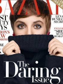 Lena Dunham, desnuda en Harper's Bazaar antes de sus 30 años