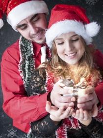 Frases de amor para una romántica Navidad