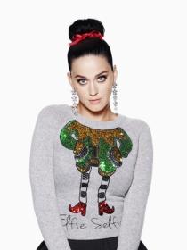 ¡Llega la Navidad! Katy Perry brilla en la campaña de H&M