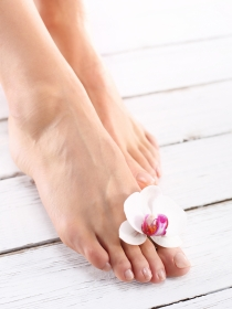 Cómo cuidar los pies hinchados en el embarazo