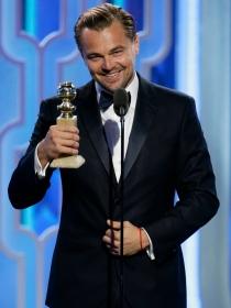 Globos de Oro 2016: el gran susto de Lady Gaga a DiCaprio