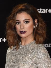 El maquillaje dark de Blanca Suárez para deslumbrar