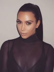 Sleek Ponytail: aprende a hacer la coleta de Kim Kardashian