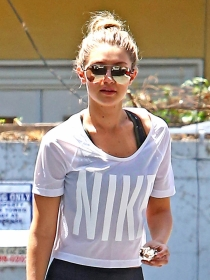 Looks deportivos de Gigi Hadid para ir divina al gimnasio