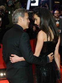 Berlinale 2016: Amal y George Clooney, complicidad y estilo