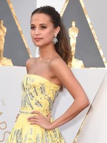 Oscars 2016: Alicia Vikander y los mejores look de Hollywood