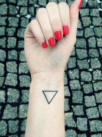 Significado de tatuajes de triángulos