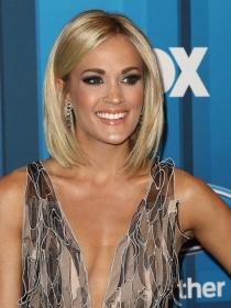 Carrie Underwood: una melena bob con efecto extra liso