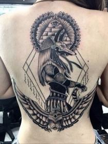 Significado de tatuajes: Anubis, un tattoo muy especial