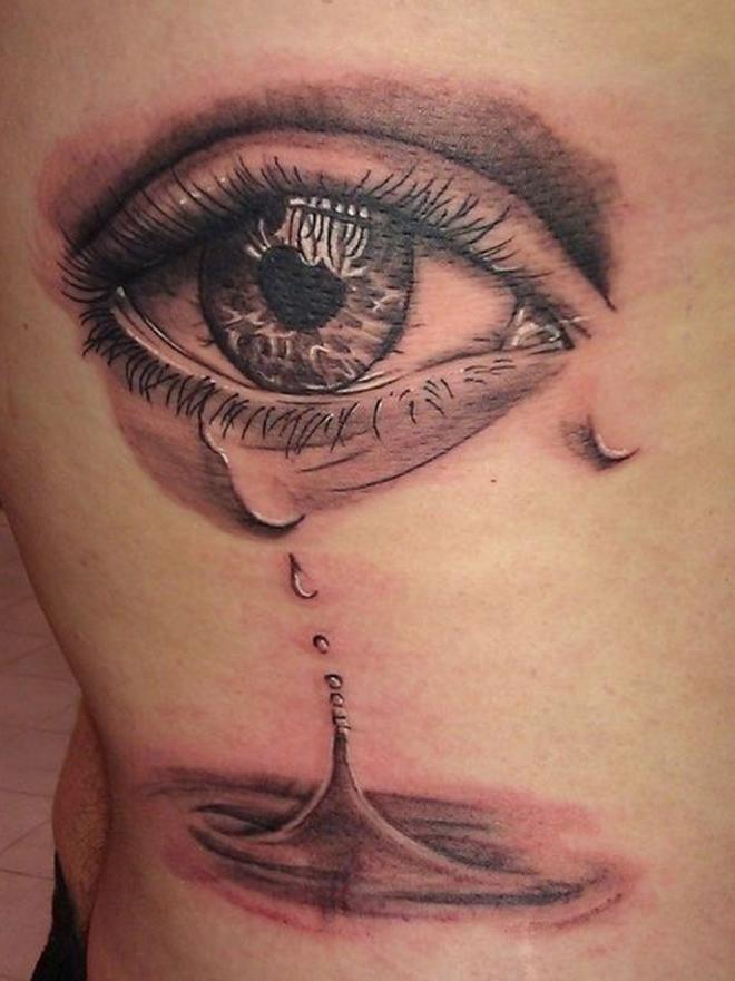 El Triste Significado De Los Tatuajes De Lágrimas