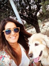 Perros de famosos: Lola, la adorable cocker de Isabel Jiménez