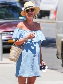 5 trucos de Nicky Hilton para vestir guapa en el embarazo