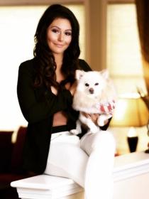 Perros de famosos: Bella la pomerania y Noel la bichón de Jenni Jwoww