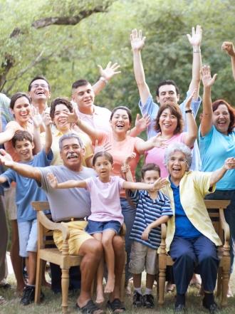 Soñar con tener familia numerosa