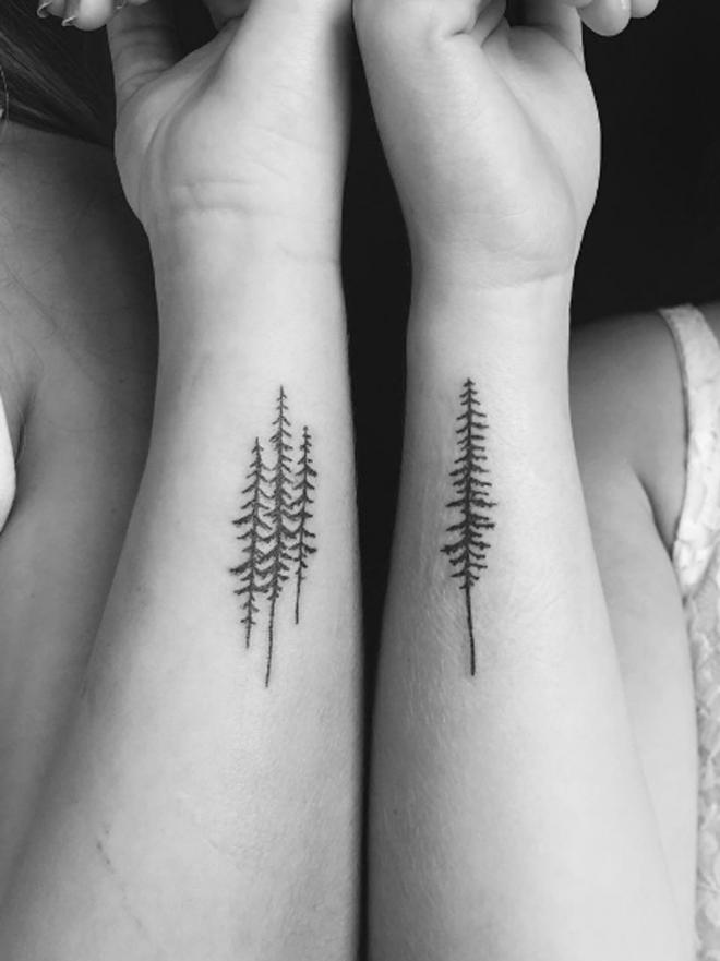 Bosques Hojas Y Vida El Significado De Tatuajes De árboles