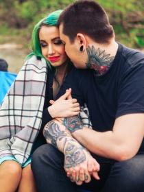 La interpretación de los tatuajes con frases motivadoras