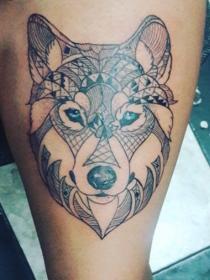 Los tatuajes de lobos: su significado e interpretación