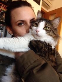 Perros y gatos de famosos: Drogon y Libertad, de Aura Garrido
