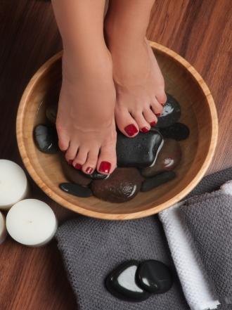 Disimula uñas de los pies