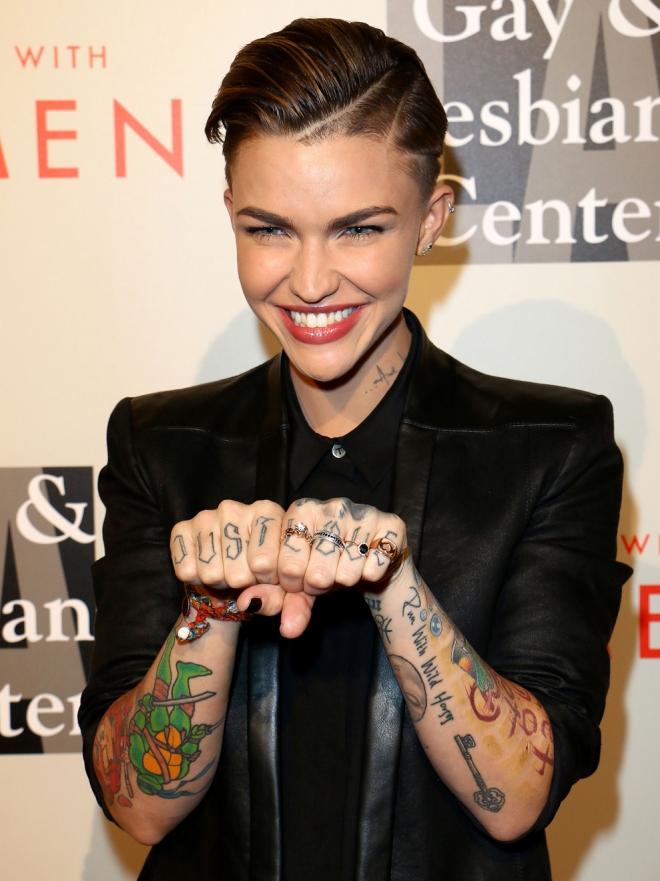 Salvaje Y Libre Los Tatuajes De Ruby Rose