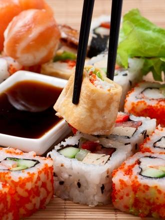 Las propiedades del sushi en una dieta equilibrada