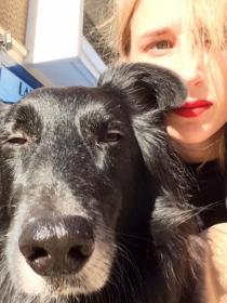 Perros de famosos: Rufo y la actriz Ingrid García-Jonsson