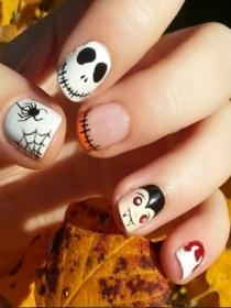 3 tendencias de uñas de Halloween que nunca fallan